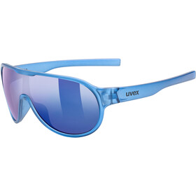 UVEX Sportstyle 512 Glasses Kids blue transparent/mirror blue